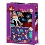 Art-Puzzle-4495 2 Puzzles - Space