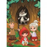 Puzzle  Art-Puzzle-4503 XXL Pieces - Little Red Riding Hood
