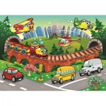 Puzzle  Art-Puzzle-4504 XXL Pieces - Traffic