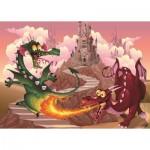 Puzzle  Art-Puzzle-4505 XXL Pieces - The Dragons