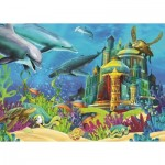 Puzzle  Art-Puzzle-4525 The Underwater Castle