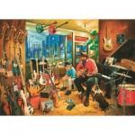 Puzzle  Art-Puzzle-4536 Music Shop