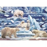 Puzzle  Art-Puzzle-4539 The Pole Bears