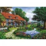 Puzzle  Art-Puzzle-4551 The Garden