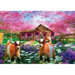 Puzzle  Art-Puzzle-4577 When Spring Comes