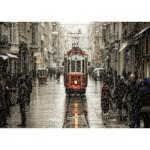 Puzzle  Art-Puzzle-4707 Murat Akan : Beyoglu in Sleet