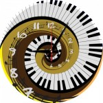 Art-Puzzle-5006 Puzzle Clock - Rhythm of Time