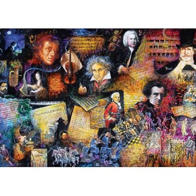 Puzzle Art-Puzzle-5031 Music Lover