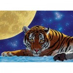 Puzzle  Art-Puzzle-5072 Moon Tiger