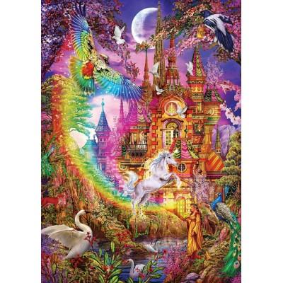 Puzzle Art-Puzzle-5075 Rainbow Castle