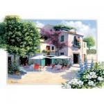 Puzzle  Art-Puzzle-5079 Cafe Villa
