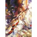 Puzzle  Art-Puzzle-5088 The Cellist
