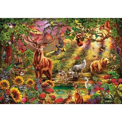 Puzzle Art-Puzzle-5176 Enchanted Forest