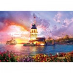 Puzzle  Art-Puzzle-5179 Maiden's Tower