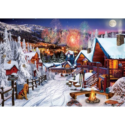 Puzzle Art-Puzzle-5183 Winter Fun