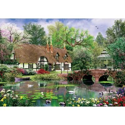 Puzzle Art-Puzzle-5189 Lotus Flowers