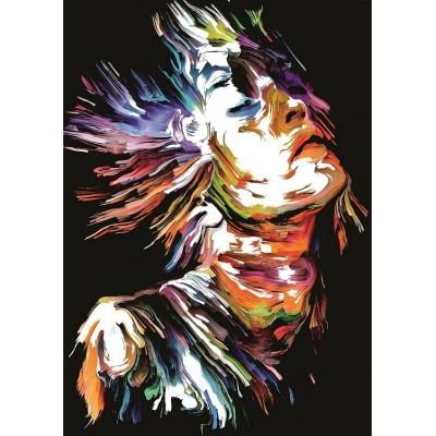 Puzzle Art-Puzzle-5198 Portrait of Colours