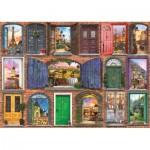 Puzzle  Art-Puzzle-5219 Doors of Europe