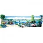 Puzzle  Art-Puzzle-5348 Garden Terrace