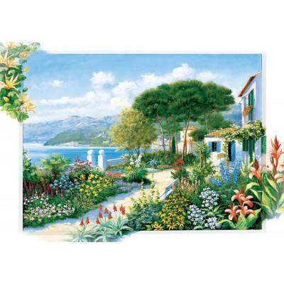 Puzzle Art-Puzzle-5370 Coastline Town