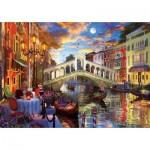 Puzzle  Art-Puzzle-5372 Rialto Bridge, Venice