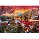 Puzzle  Art-Puzzle-5472 Caravan Camp