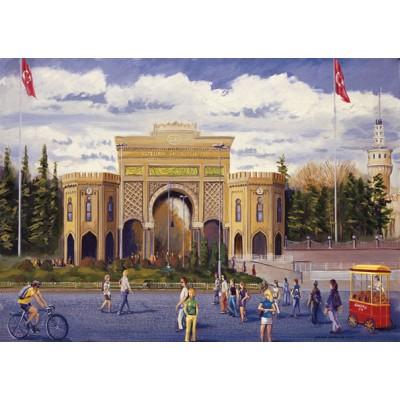 Puzzle Art-Puzzle-81060 Turkey : Istanbul University