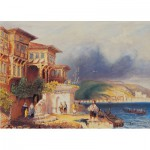 Puzzle  Art-Puzzle-81066 Turkish Houses in Bosphorus