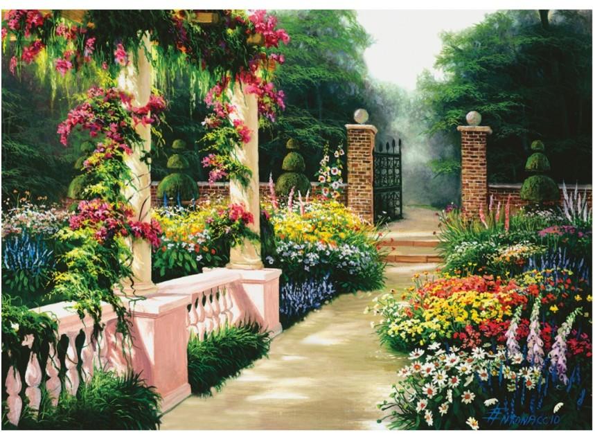 Eden Garden 2000 piece jigsaw puzzle