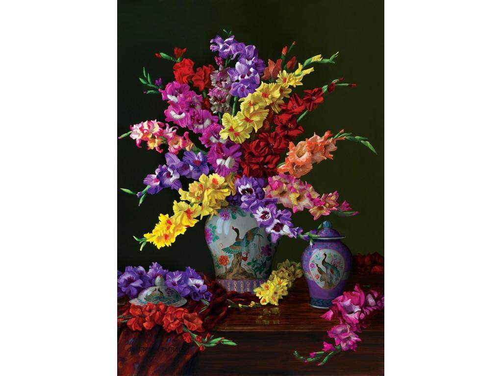 puzzle flowers and colors artpuzzle4360 1000 pieces