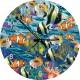 Jigsaw Puzzle Clock - Tropical Fish