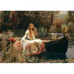 Puzzle   John William Waterhouse - The Lady of Shalott, 1888