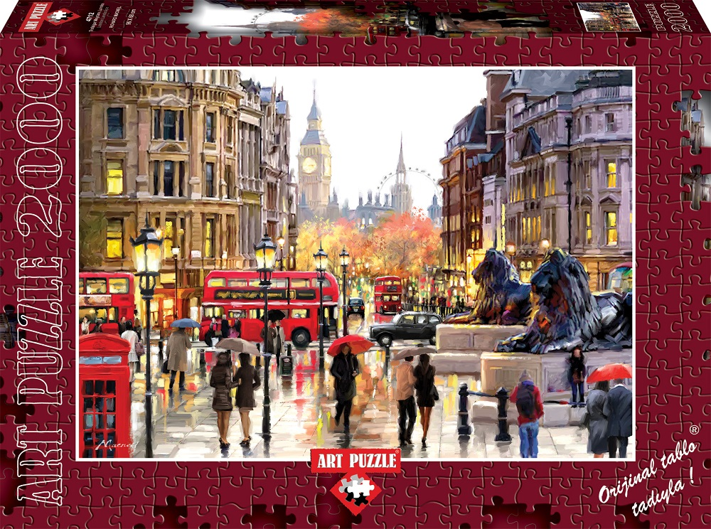 b227b07162013 Puzzle London Art-Puzzle-4712 2000 pieces Jigsaw Puzzles - Towns and ...