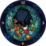 Puzzle Clock - Astrology