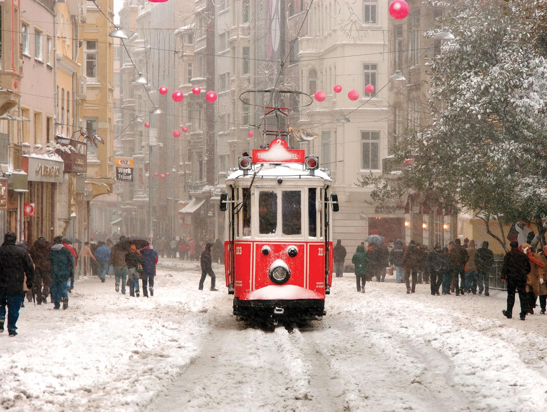 Puzzle Turkey Beyoğlu Istanbul Art Puzzle 4328 1000