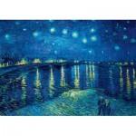 Puzzle  Art-by-Bluebird-60002 Vincent Van Gogh - Starry Night over the Rhône, 1888