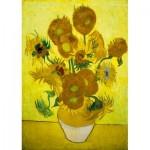 Puzzle  Art-by-Bluebird-60003 Vincent Van Gogh - Sunflowers, 1889