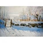 Puzzle  Art-by-Bluebird-60041 Claude Monet - The Magpie, 1869