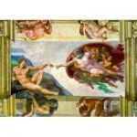 Puzzle  Art-by-Bluebird-60053 Michelangelo - The Creation of Adam, 1511