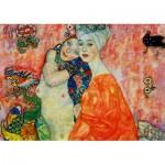 Puzzle  Art-by-Bluebird-60061 Gustave Klimt - The Women Friends, 1917