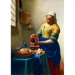 Puzzle  Art-by-Bluebird-60066 Vermeer- The Milkmaid, 1658