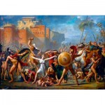 Puzzle  Art-by-Bluebird-60084 Jacques-Louis David - The Intervention of the Sabine Women, 1799