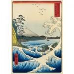 Puzzle  Art-by-Bluebird-60118 Utagawa Hiroshige - The Sea at Satta, Suruga Province, 1859
