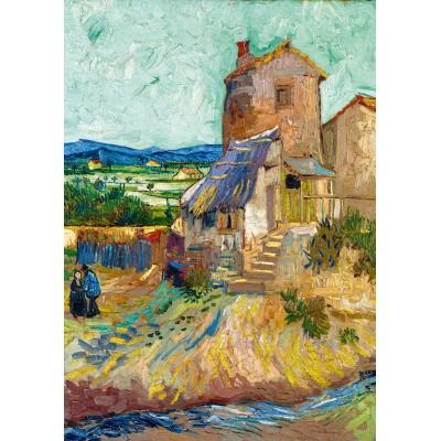 Puzzle Art-by-Bluebird-60123 Vincent Van Gogh - La Maison de La Crau (The Old Mill), 1888