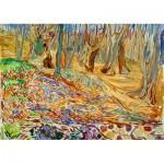 Puzzle  Art-by-Bluebird-60130 Edvard Munch - Elm Forrest in Spring, 1923