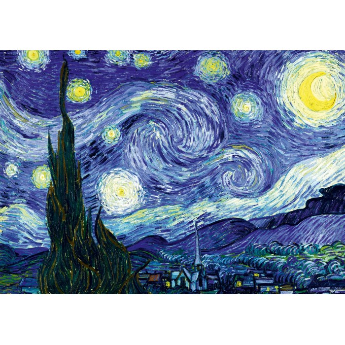 Vincent Van Gogh - The Starry Night, 1889