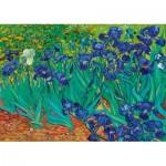 Puzzle  Art-by-Bluebird-Puzzle-60006 Vincent Van Gogh - Irises, 1889