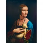 Puzzle  Art-by-Bluebird-Puzzle-60012 Leonardo Da Vinci - Lady with an Ermine, 1489