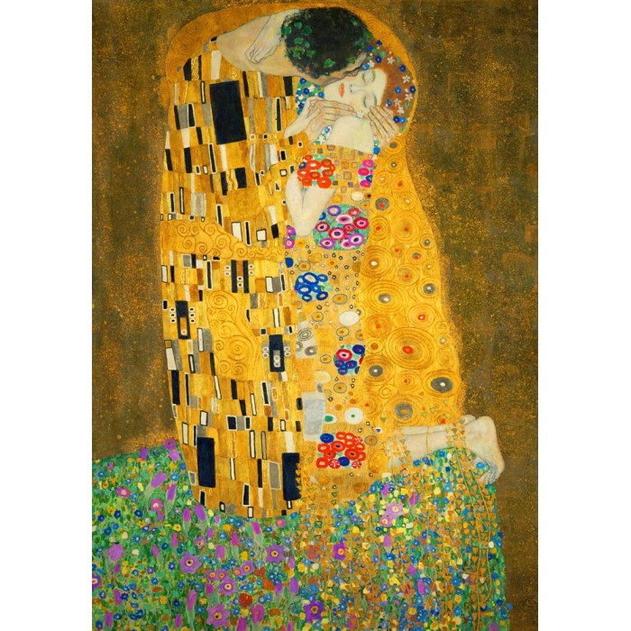 Gustave Klimt - The Kiss, 1908
