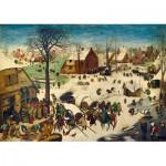 Puzzle  Art-by-Bluebird-Puzzle-60026 Pieter Bruegel the Elder - The Census at Bethlehem, 1566